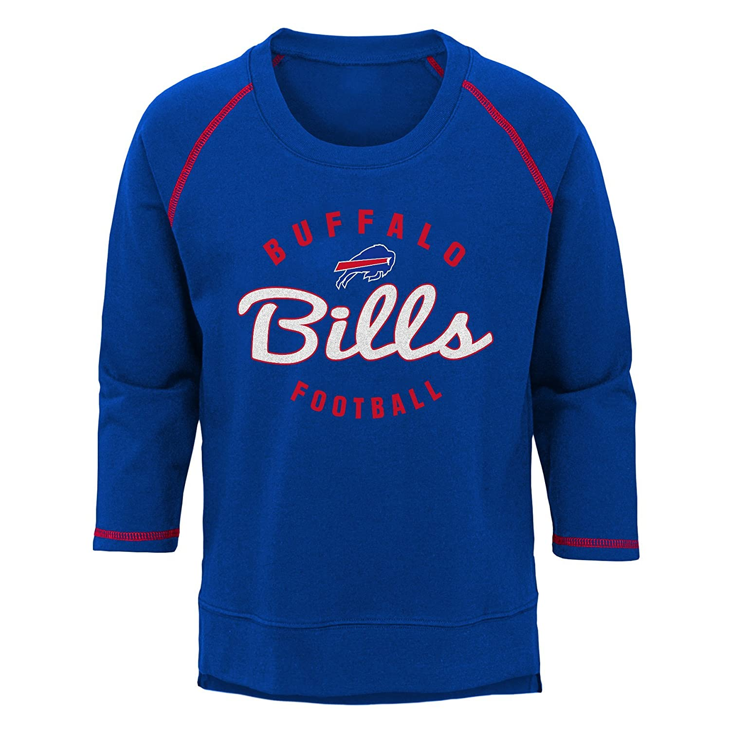 14 Youth Large NFL Buffalo Bills Youth Boys Overthrow Pullover Top Royal