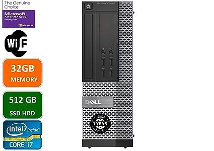 Amazon com: Dell Optiplex 7020 Desktop Computer, Intel Quad-Core i7