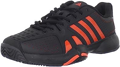 factory price 6a3ff 961a2 adidas Mens Barricade Team 2-M, Black High Energy, ...