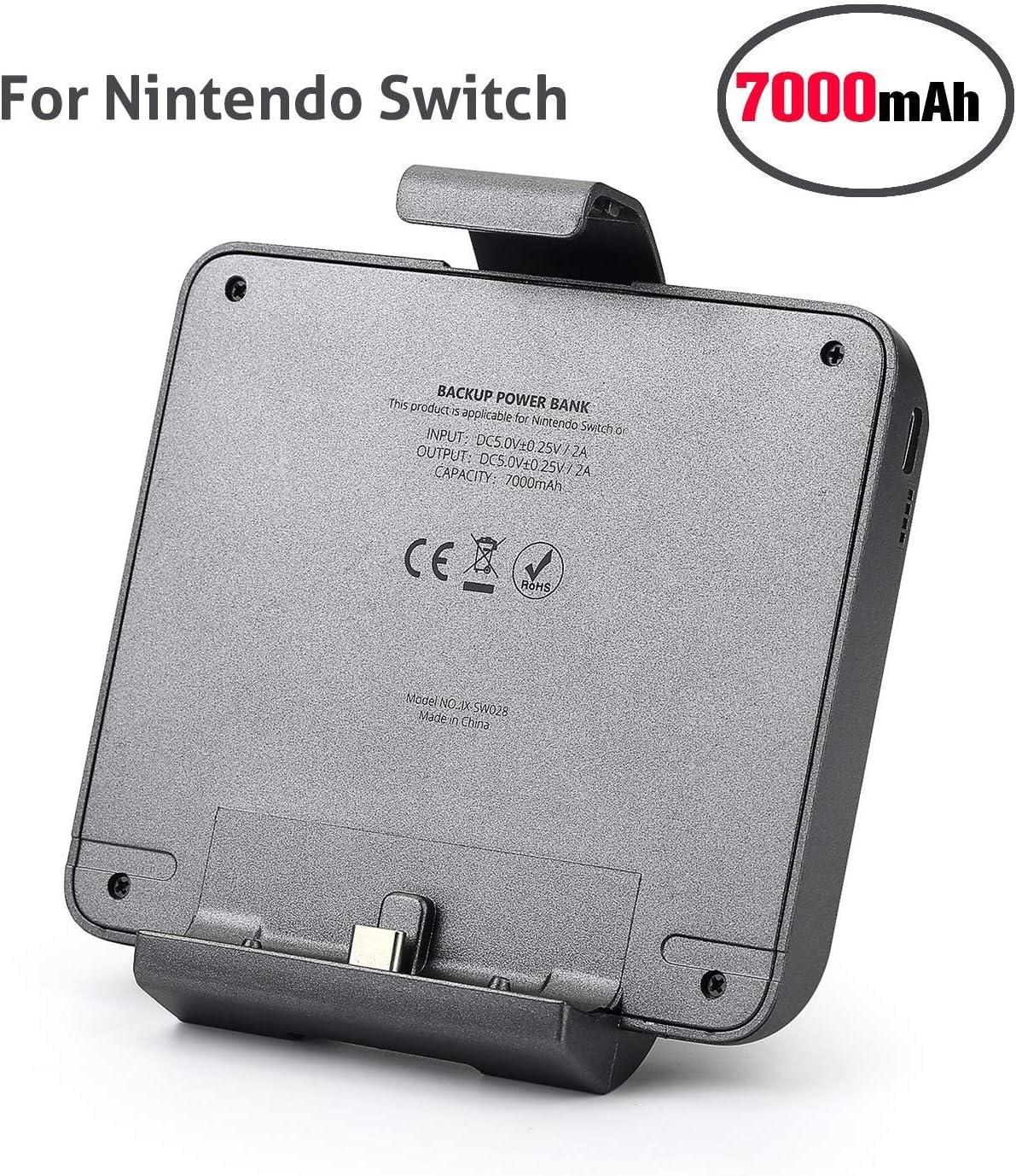 Chinsion Batería Externa para Nintendo Switch, batería del ...