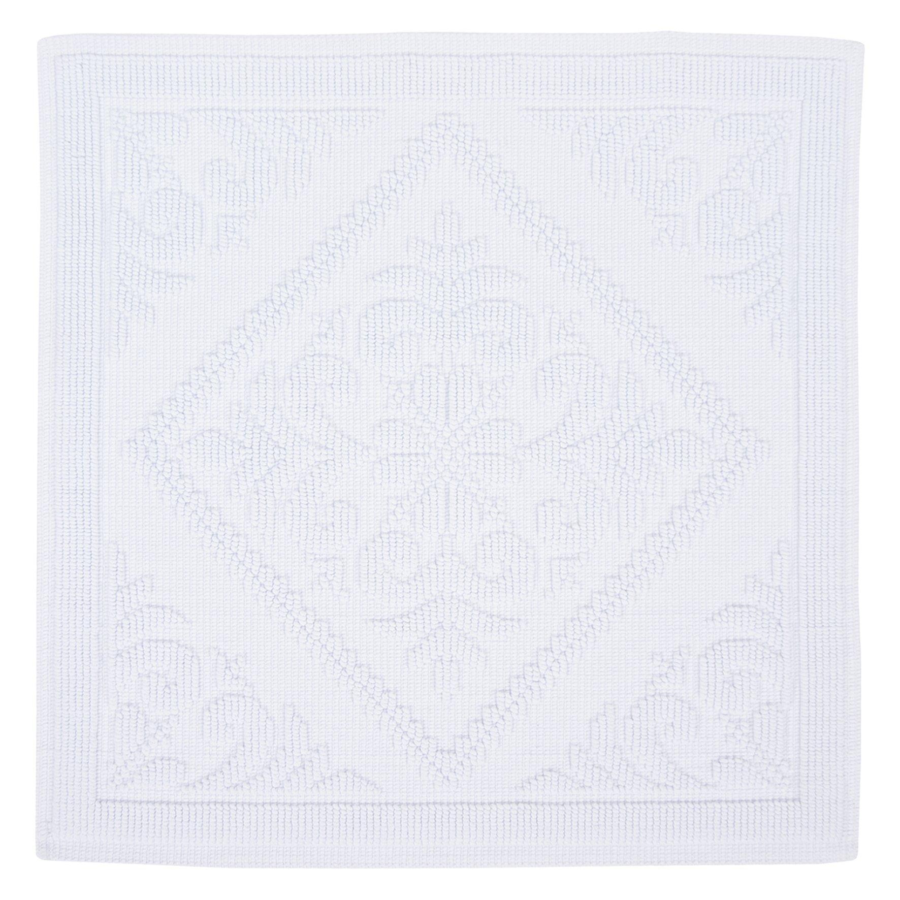 DIFFERNZ 31.102.56Domus Bath Mat, White by Differnz
