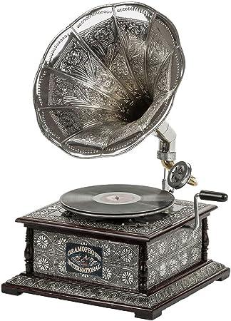 Nostalgia gramófono gramófono Embudo de Estilo