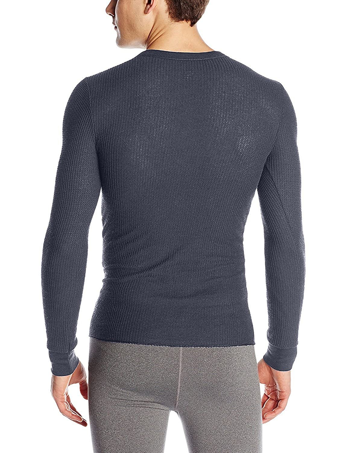 1 /& 2 Packs Fruit of the Loom Mens Classics Midweight Waffle Thermal Underwear Crew Top