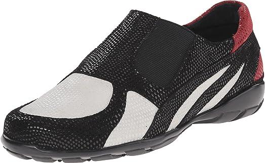 Womens Shoes Vaneli Attie White E-Print/Black E-Print/Red E-Print