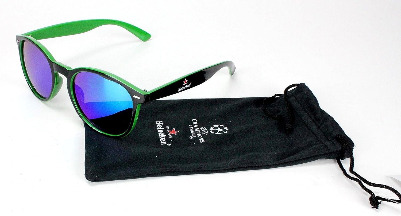 Heineken Champions League - Gafas de Sol con Estuche: Amazon.es: Hogar