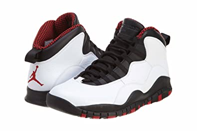NIKE Air Jordan 10 Retro X Chicago White Black Varvity Red AJ10 310805-100 [