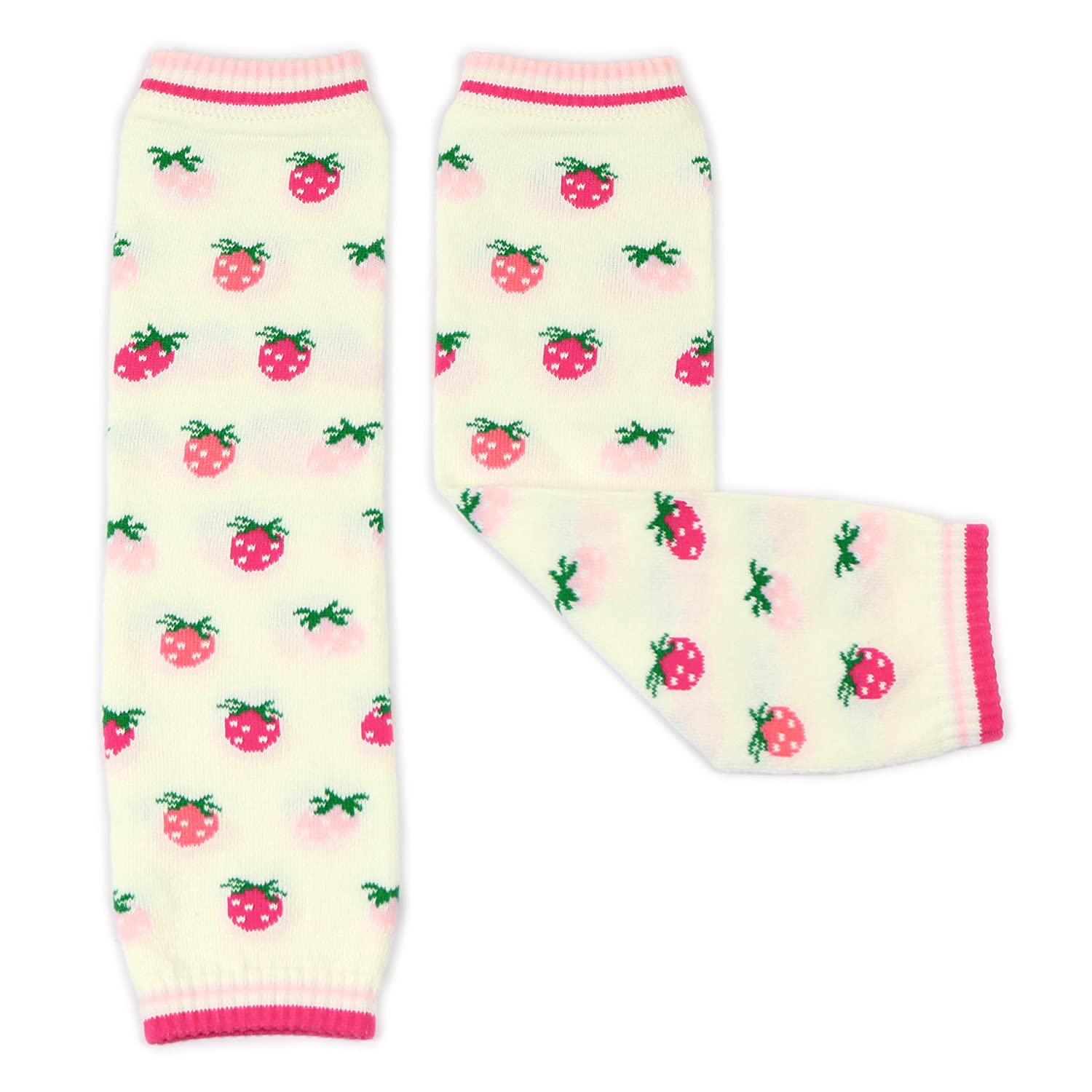 Girls Legwarmers by Dotty Fish - Baby and Toddler - Flowers, Cherries, Stripes, Stars and more - One Size ABL006