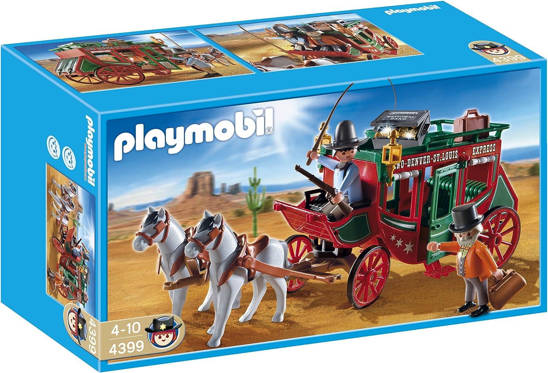 PLAYMOBIL - Diligencia del Oeste, Set de Juego (4399)
