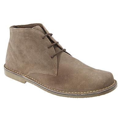 Roamer , Unisex - Erwachsene Desert Boots , Beige - Sand - Größe: 45.5