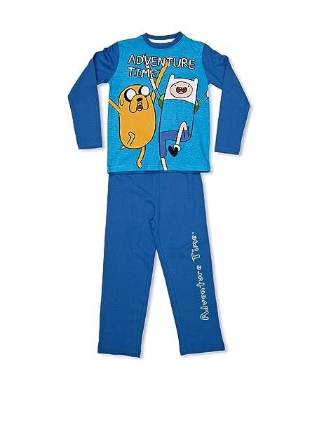 Hora De Aventuras Ha-Finn & Jake Pijama Azul 2 años (92 ...