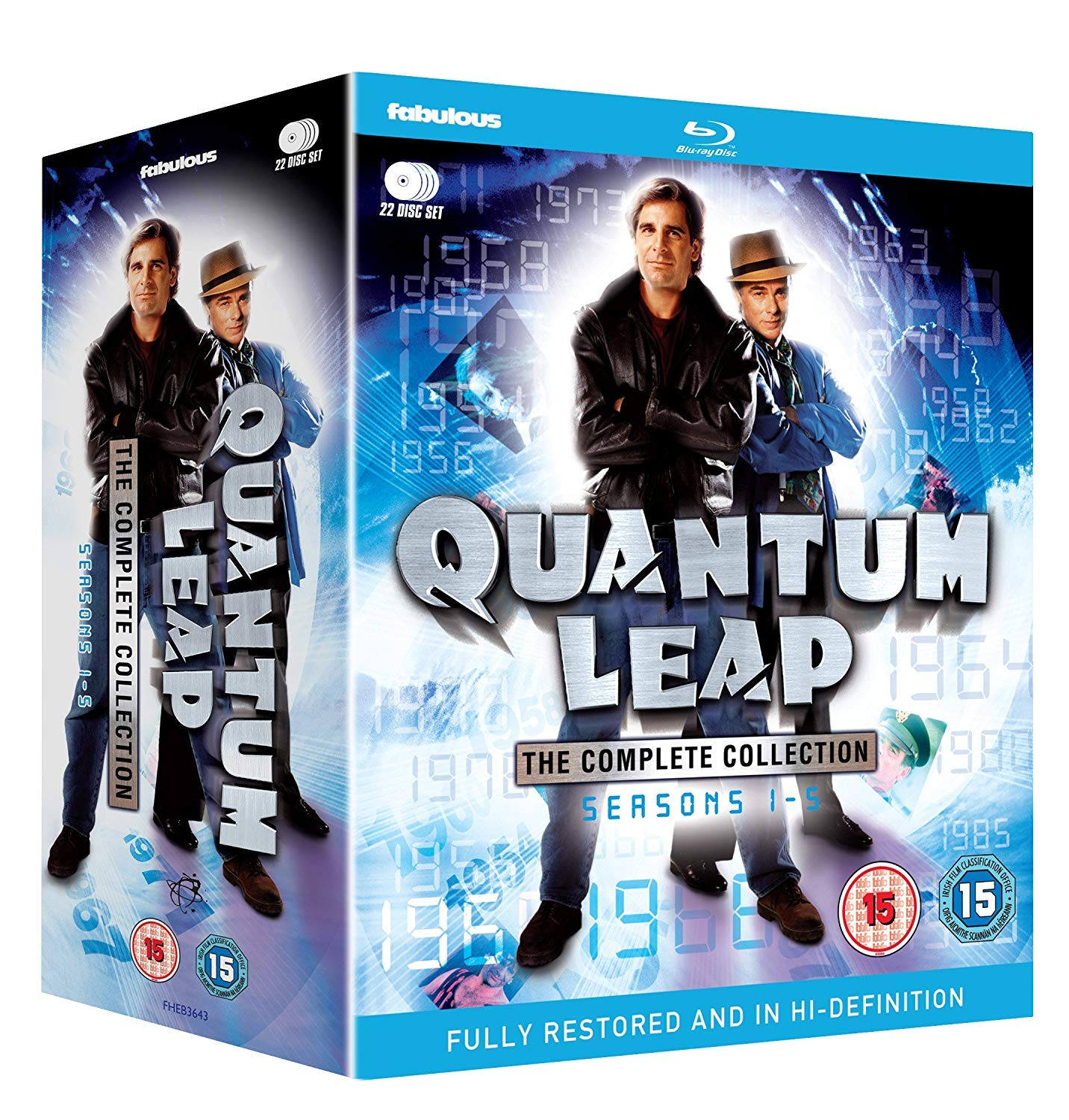 Quantum Leap: The Complete Collection Blu-ray Reino Unido ...