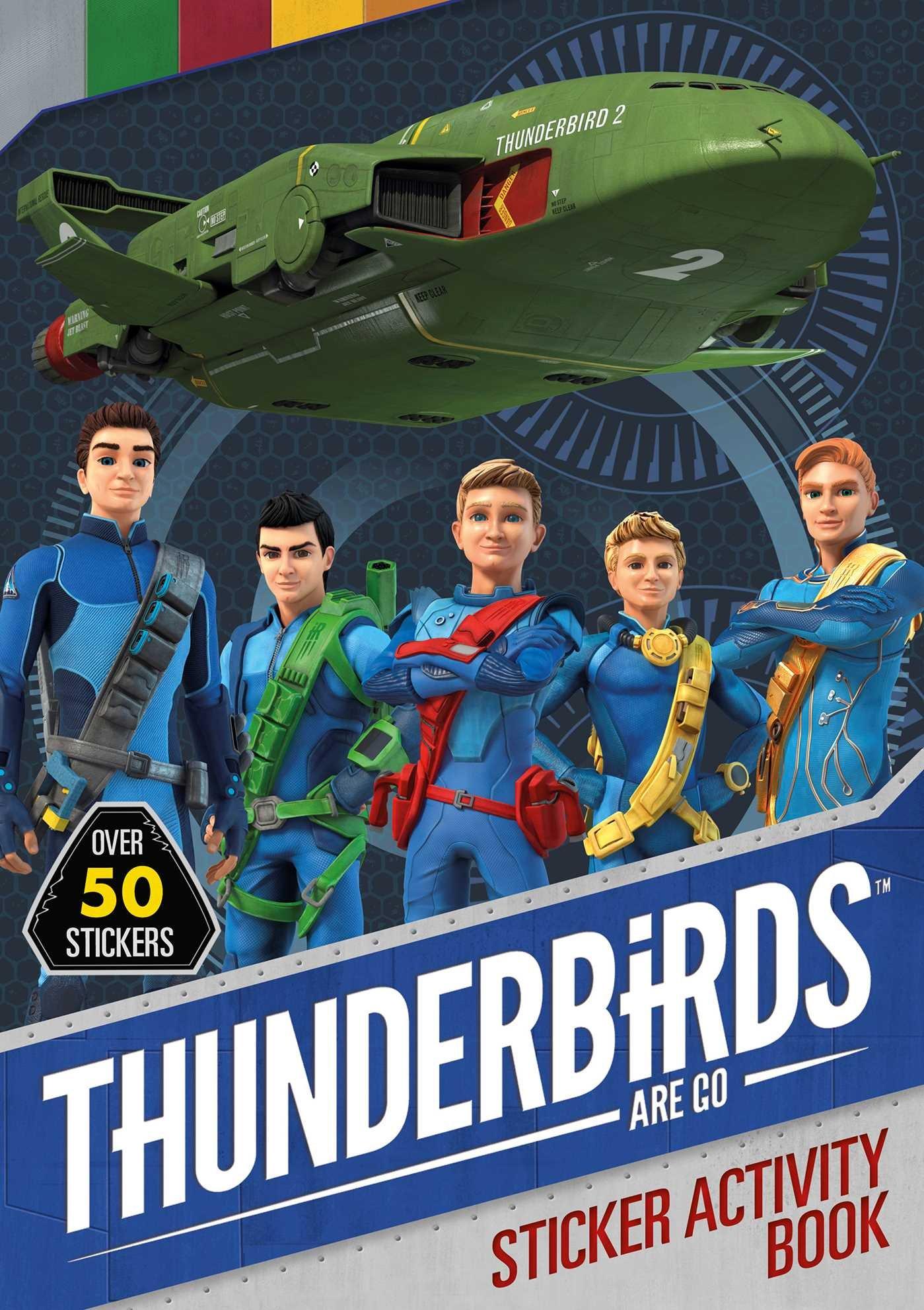 Thunderbirds Are Go Sticker Activity pdf epub