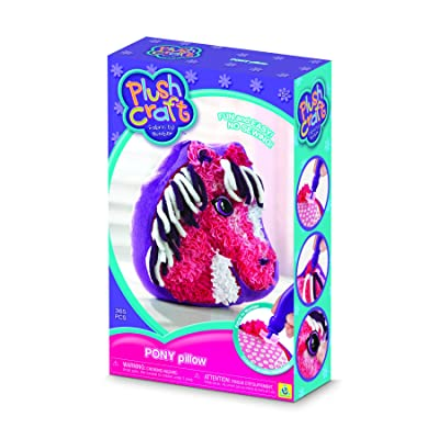 The Orb Factory Plushcraft Pony Pillow: Toys & Games