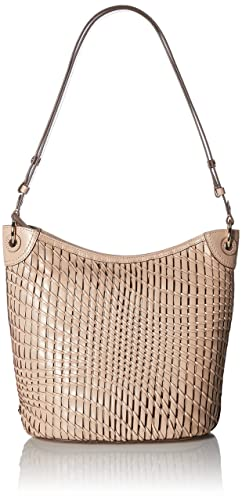 Cole Haan Genevieve Open Weave Bucket Hobo