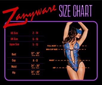 172029a80 Amazon.com  Zanyware Womens Lace Deep V Neck Backless Teddy Sexy Lingerie  One Piece Bodysuit with Blind Fold  Clothing