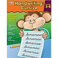 Brighter Child 704873 Handwriting: Cursive Workbook