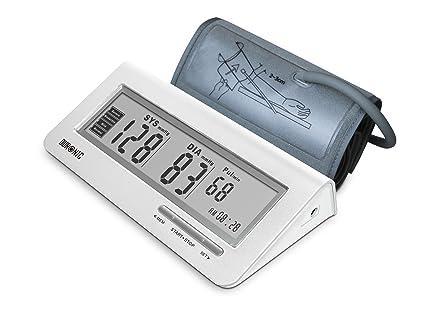 Duronic BPM400 Tensiómetro de Brazo Monitor Presión Arterial Eléctrico con Función Memoria Lecturas de Presión Arterial