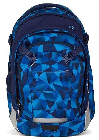 a87f50939c6c4 Satch Schulrucksack Match Blue Crush 9A2 blau polygon  Amazon.de ...