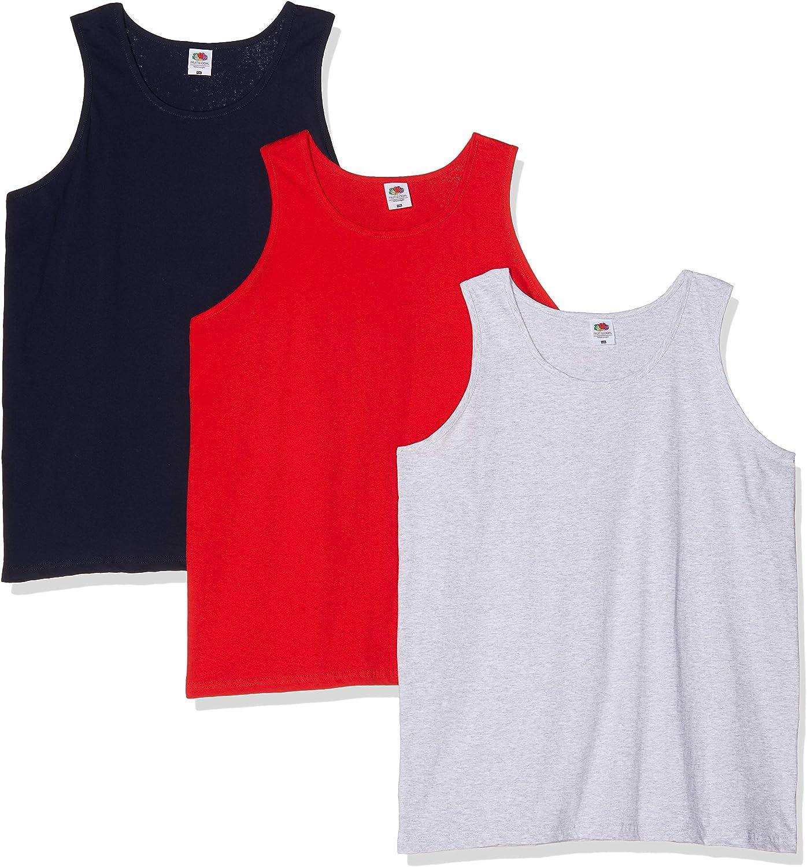 Fruit of the Loom, Camiseta de Tirantes para Hombre, Pack de 1