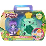 Just Play Green Glimhouse with purple Glimmie