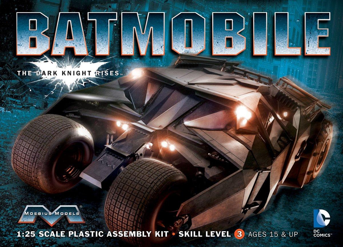 メビウス ダークナイトライジング 1/25 バットモービル (タンブラー) プラスチックモデルキット MOE943 B0048KPXPK