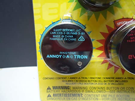 ThinkGeek Annoy-a-tron Prankster Pack 3 0 - Includes 3 ThinkGeek Prank  Products: Annoy-a-tron, Ringtone Annoy-a-tron, and Eviltron