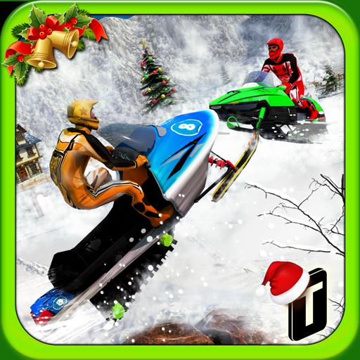 Snowmobile Crash Derby 3D
