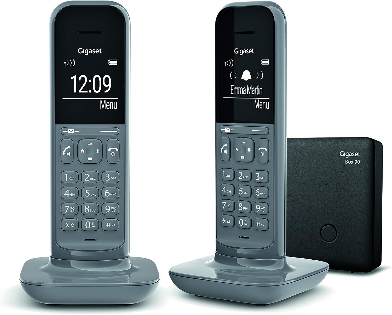 Gigaset CL390 Duo - telefono inalambrico- Manos Libres - Pack 2 Unidades - estacion Base Independiente