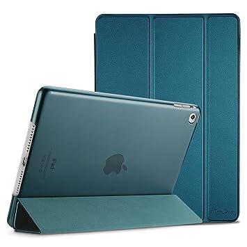 ProCase Funda Inteligente para iPad Air 2, Carcasa Folio Ligera y Delgada con Smart Cover/Reverso Translúcido Esmerilado/Soporte, para Apple iPad Air ...