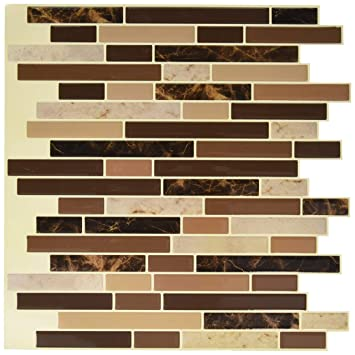 Art3d 12x12 Self Adhesive Wall Tile Peel And Stick Backsplash For - Self-adhesive-backsplash-set