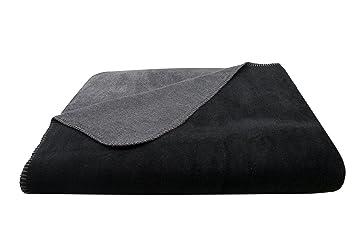 Zollner Kuscheldecke Wolldecke Schwarz Grau Weitere Verfugbar