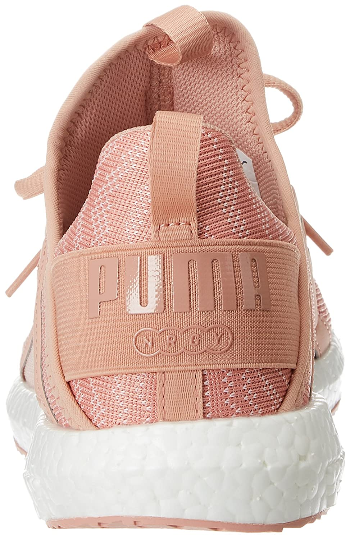 50fd15a8fb8 Puma Women s Mega Nrgy Zebra Wn S Pearl-Peach Beige Running Shoes   Amazon.in  Shoes   Handbags