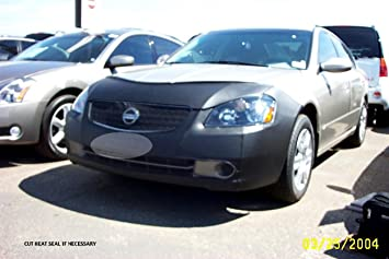 Black Vinyl LeBra Front End Cover Nissan Altima