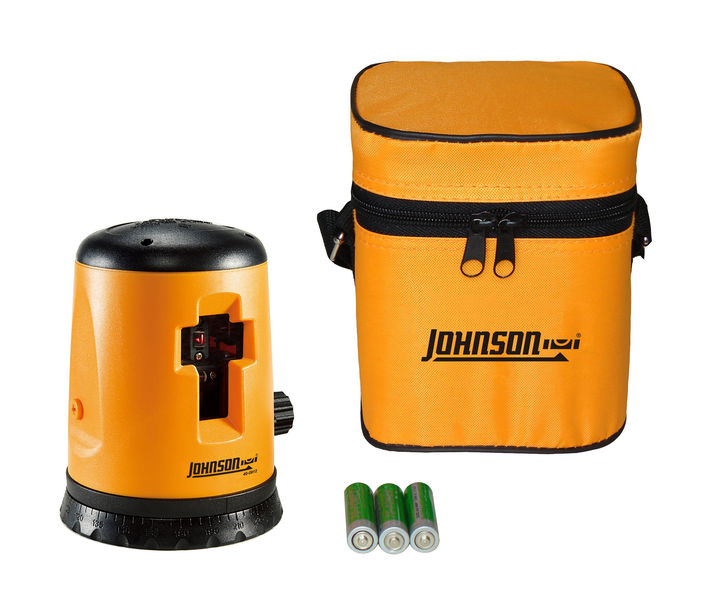 Johnson Level and Tool 40-0912 Self-Leveling Cross-Line Laser Level