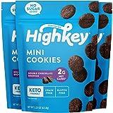 HighKey Snacks Keto Low Carb Food Chocolate Brownie Cookie Bites - Paleo, Diabetic Diet Friendly - Gluten Free, Low Sugar Dessert Treats & Sweets & Ketogenic Products Healthy Protein Brownies, Pack of 3