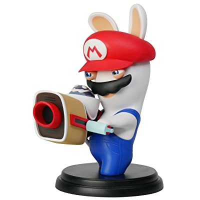 "Mario + Rabbids Kingdom Battle Rabbid Mario 6"" Figure [Ubisoft]: Toys & Games"