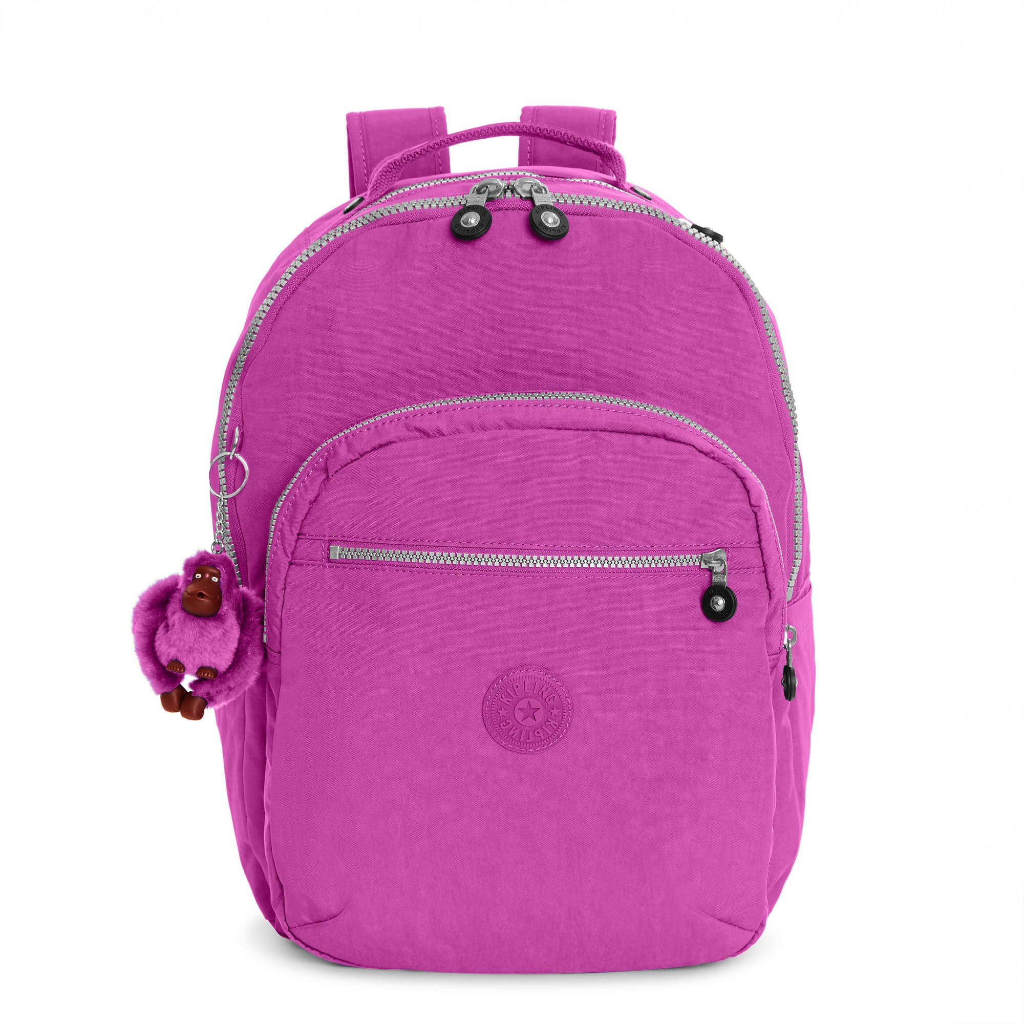 Kipling Seoul Large Laptop Backpack (Purple Garden)