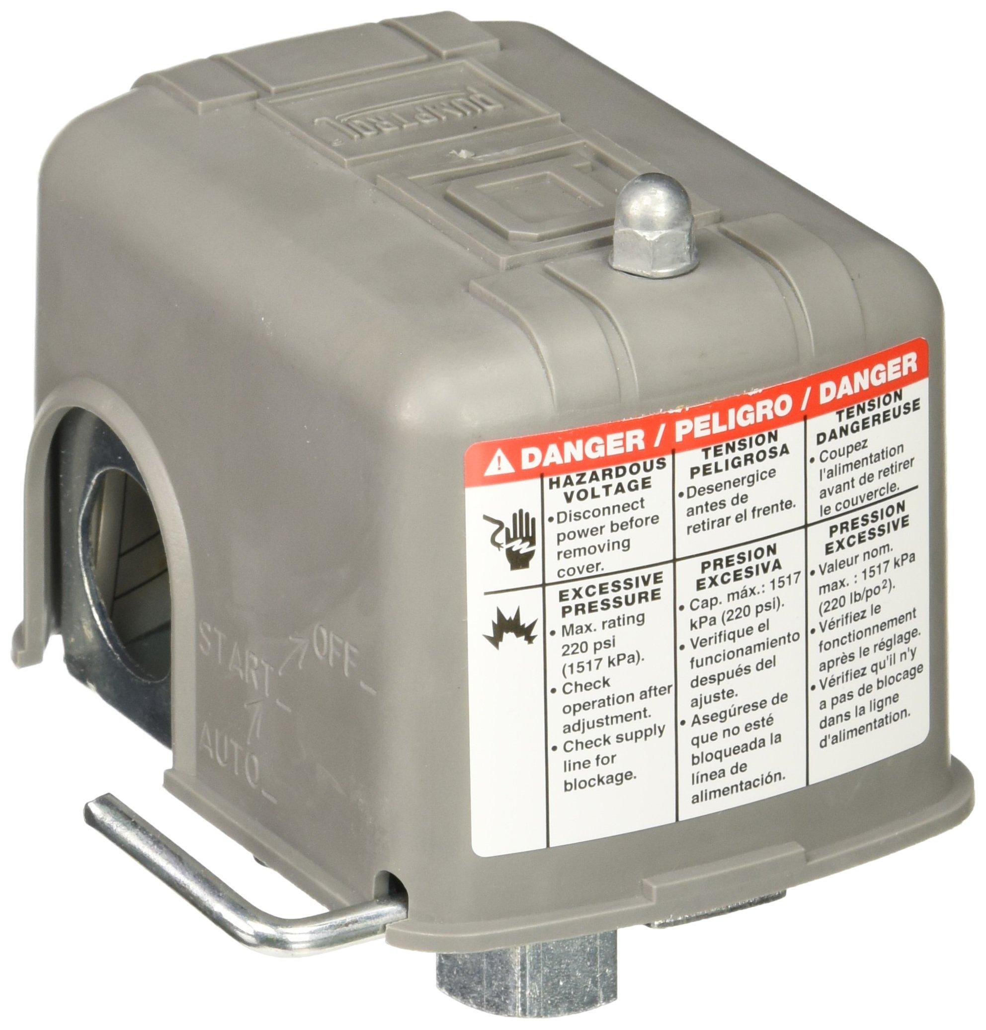 Wayne 17064-001 Square D Pressure Switch