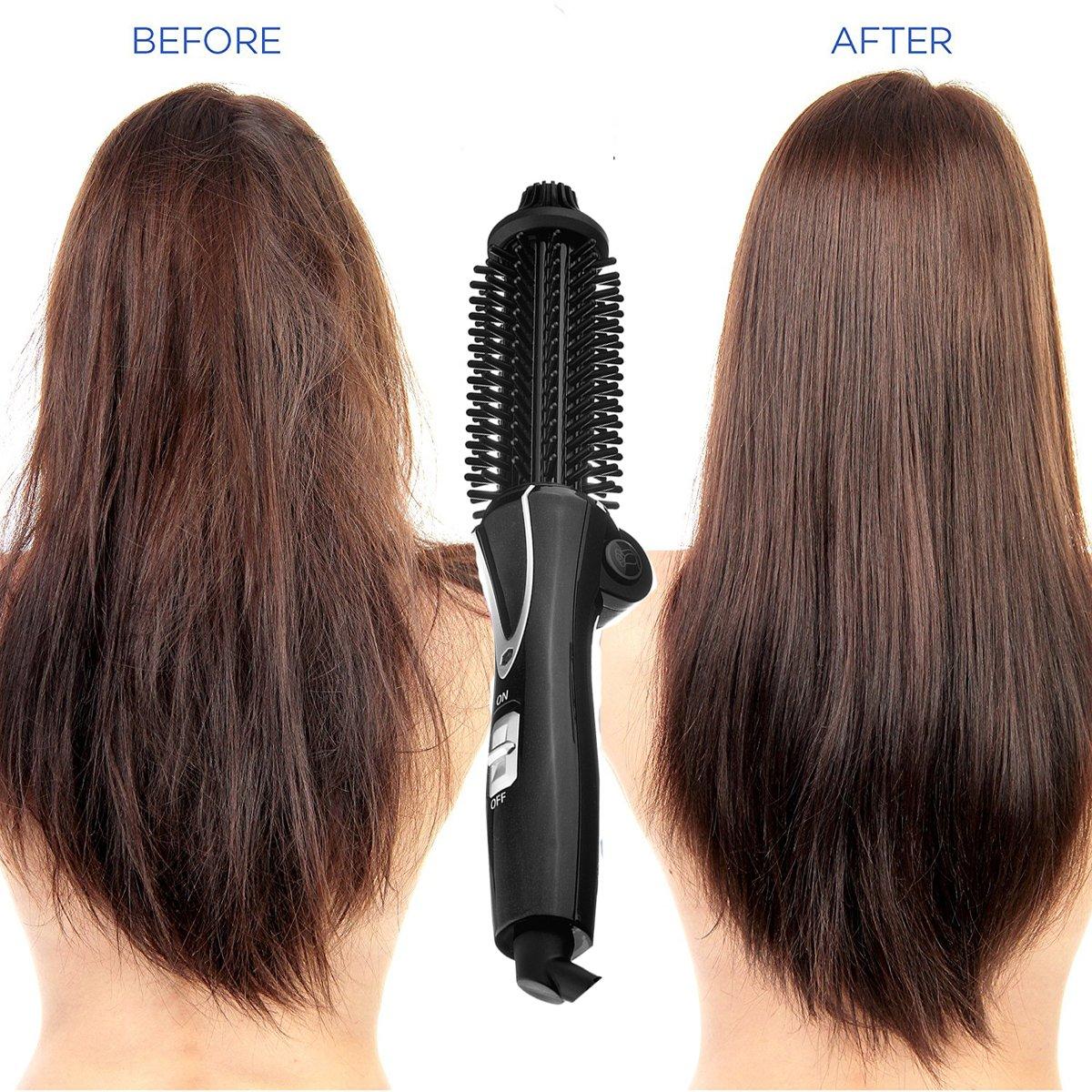 Caliente pelo Styler, szwintec 26 mm barril de cerámica Multi Función de tamaño mediano cepillo de pelo cabello cepillo & Cabello rizador para salón Glamour ...