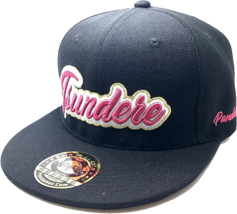 PANDAHAT Tsundere Cursive 3D Puff Embroidery Hat
