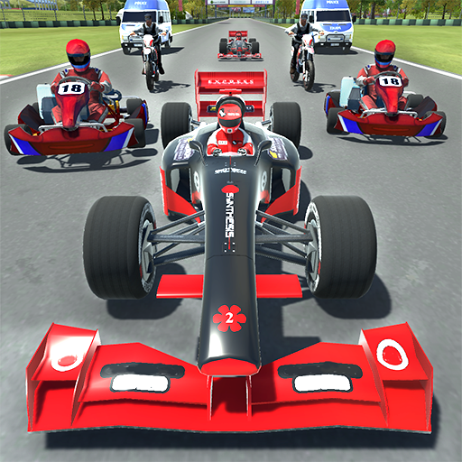Kart vs Formula Grand Prix ()