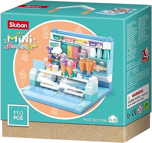 Sluban M38-B0792 Mini-Handcraft-Shops (8 One Display Box, 2 Pieces Per  Item): Toys & Games - Amazon.com