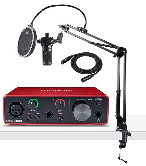 Amazon.com: Focusrite Scarlett Solo - Interfaz de audio USB ...