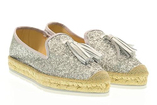 VIDORRETA Alpargatas Zapatos 16304 Silver Talla 40 Plata: Amazon.es: Zapatos y complementos