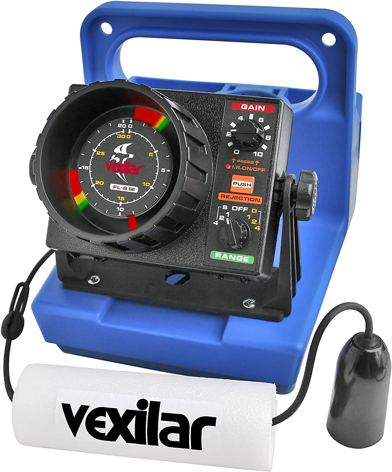 Vexilar FL-8se Genz Pack with 19 Degree Ice Flasher – GP0819