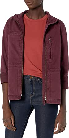 Daily Ritual Amazon Brand Women's Military Cargo Jacket