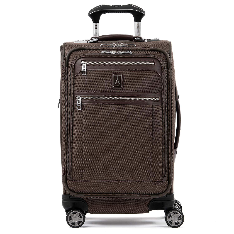 Travelpro Luggage Platinum Elite Expandable Spinner Suitcase, Rich Espresso