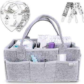Amazon.com: Putska organizador de pañales para bebé ...