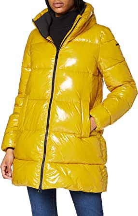 Geox W Emalise Coat Chaqueta Acolchada. para Mujer