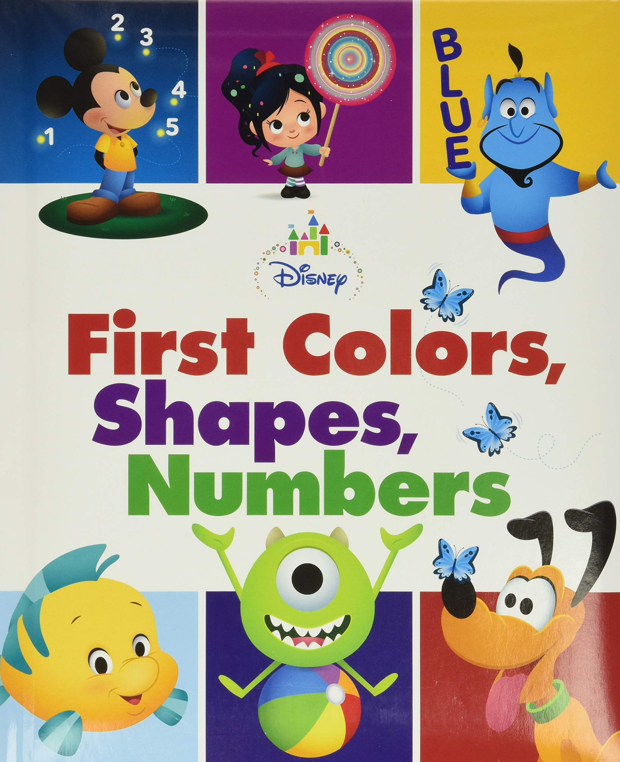 Image for Disney Baby First Colors, Shapes, Numbers